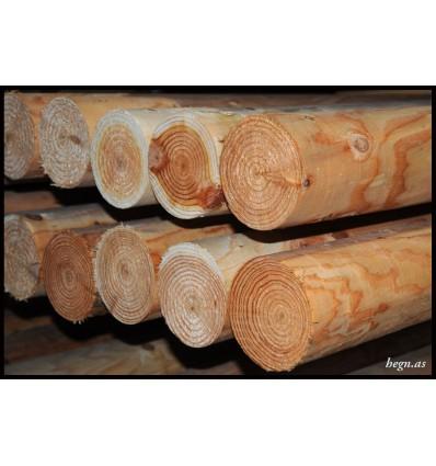 Stolpe Ø10 cm. lærketræ