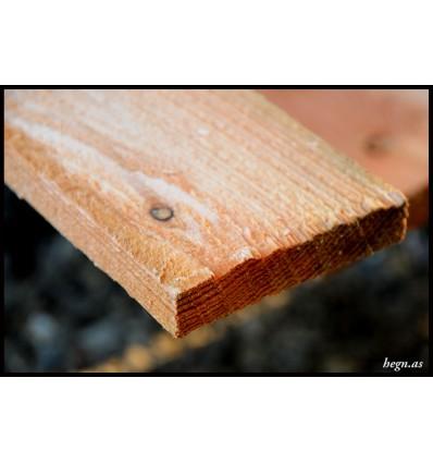 Brædder i lærketræ 19 x 100 mm